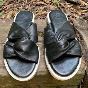Urban Outfitters | Leather Slides